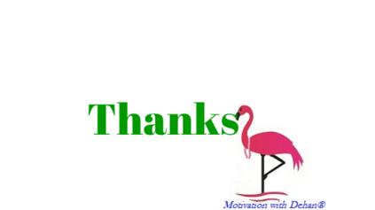 Thanks (6)