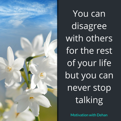 Disagreement quote
