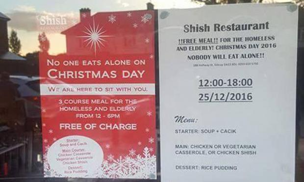 Muslim-Owned Restaurant Offers The True Spirit of Christmas.