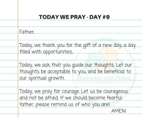 Today we pray (1)
