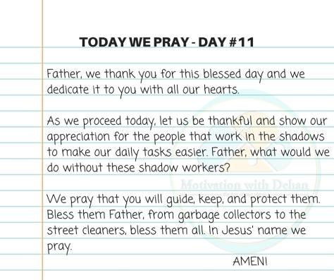 Today we pray (3)